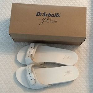 JCrew Dr. Scholl's sandals